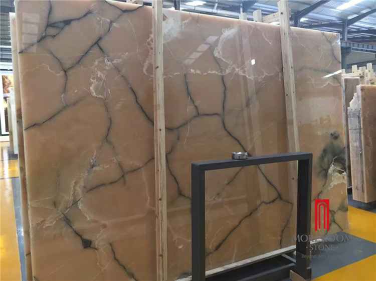 natural beautiful honey onyx slabs price