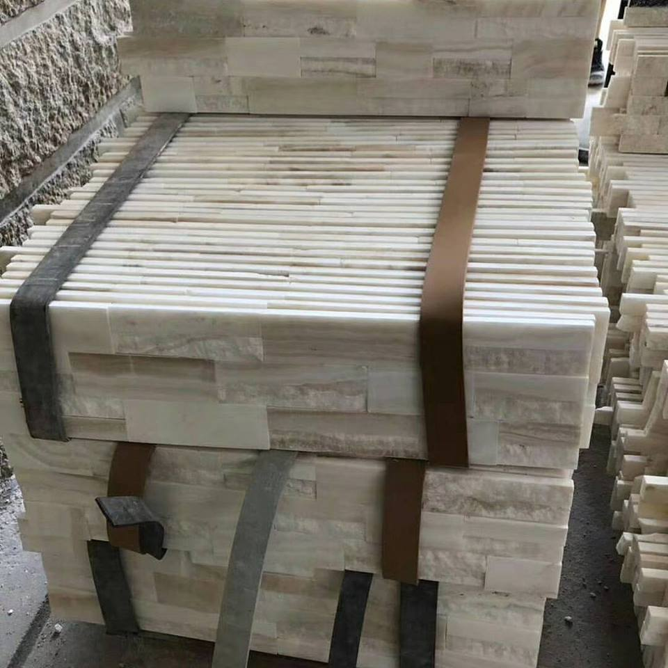 white onyx ledgerstone cultured stone tile