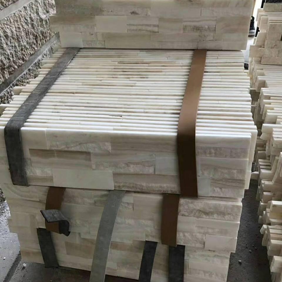 white onyx ledgerstone cultured stone tile
