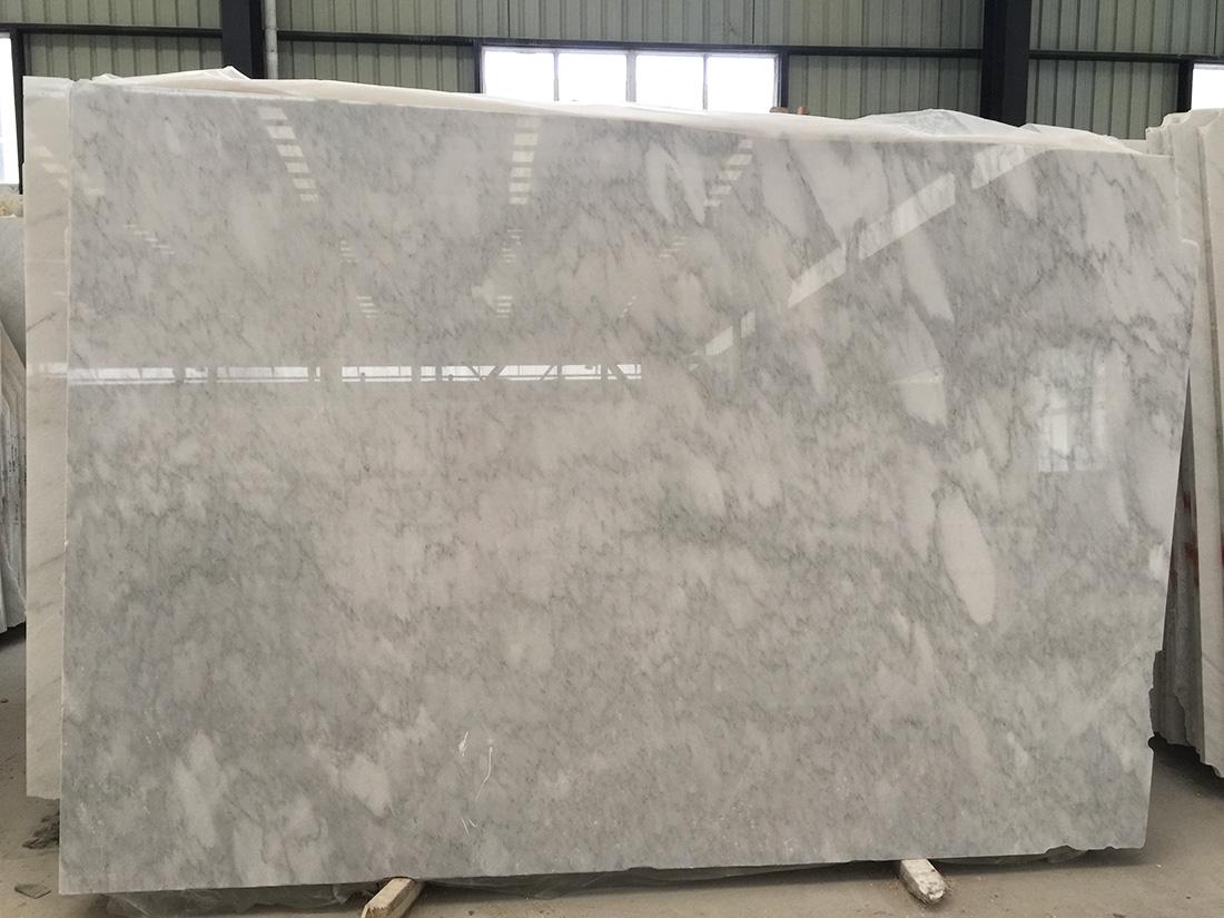 Grey White Marble Stone Slabs Oriental White