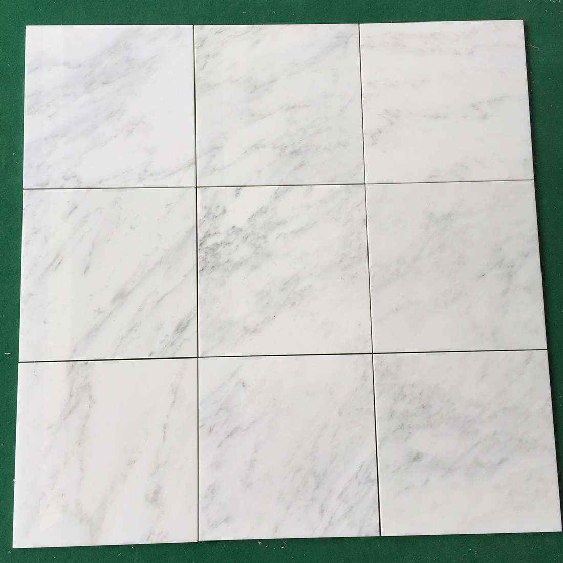 305 305 10mm Oriental white marble tiles for floor  wall