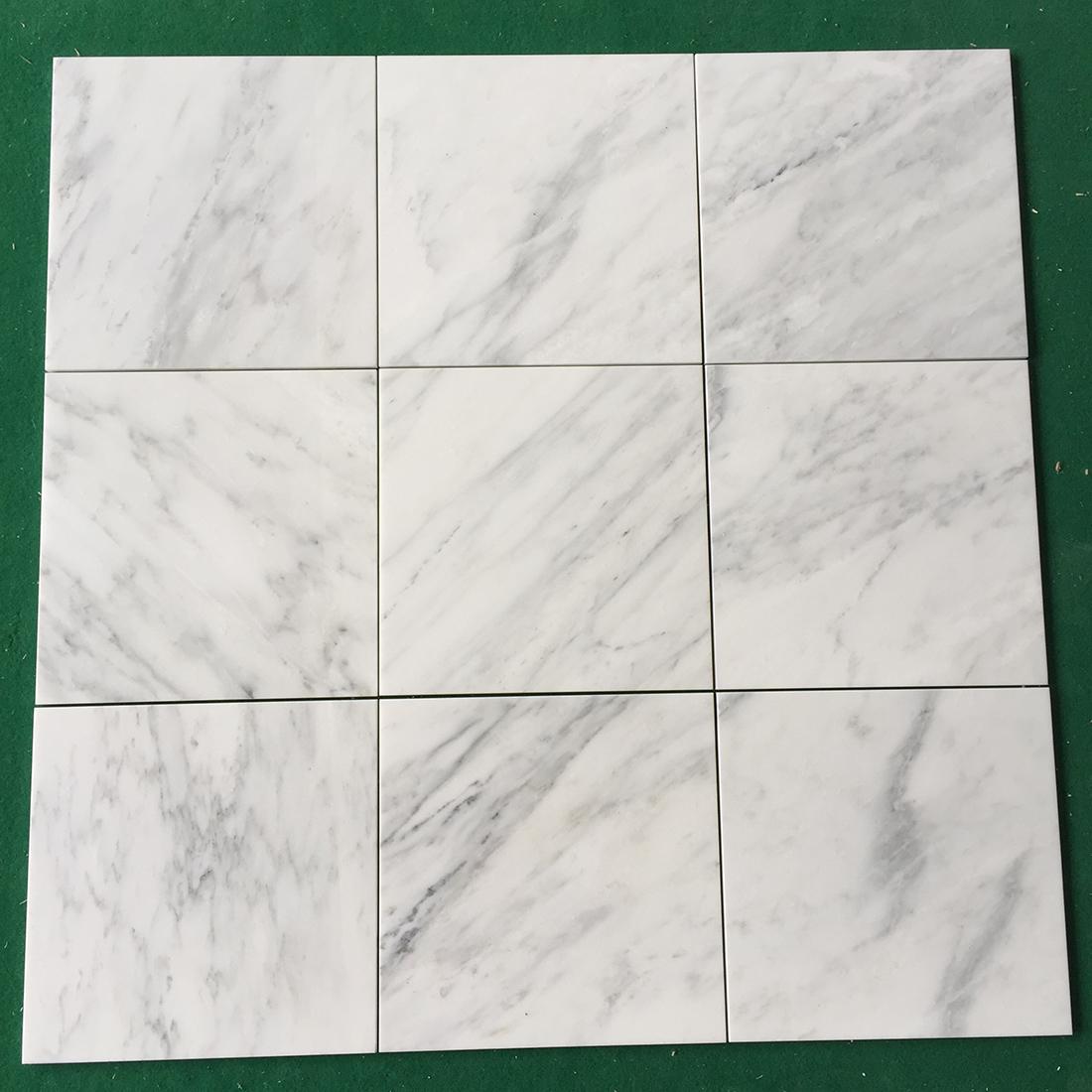 white marble tiles oriental white for floor  wall 305 305 10mm