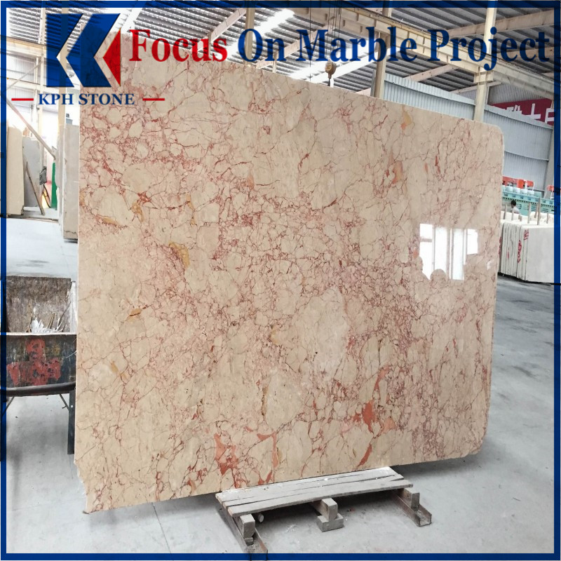 Pink Rosalia Marble For Wall Floor Tiles