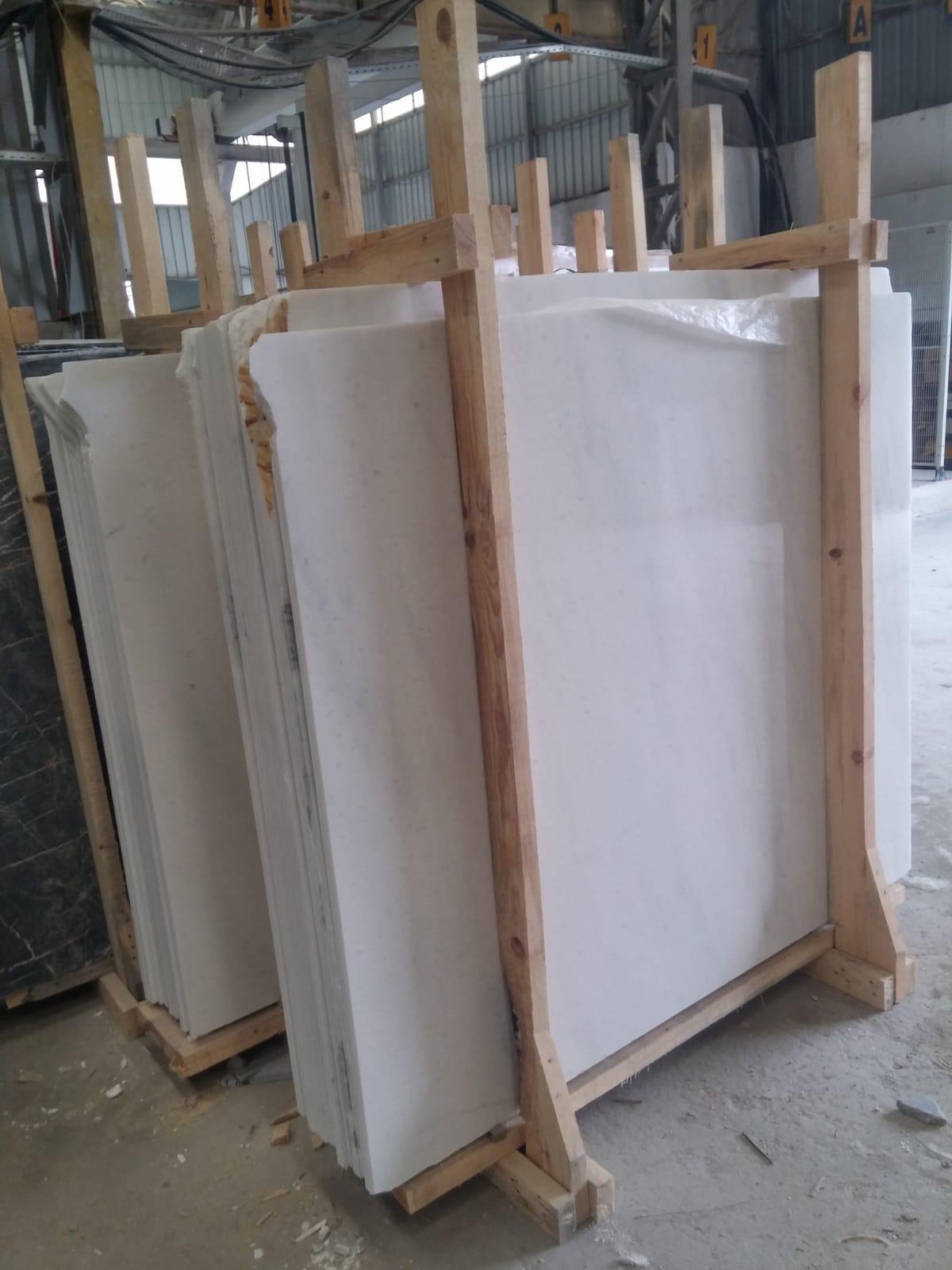 Mugla White Marble Slabs & Tiles
