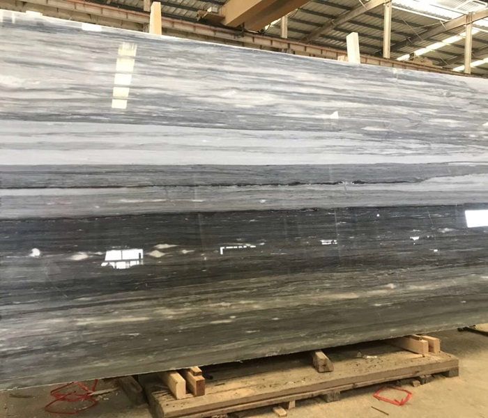 China Palisandro Blue Marble Slabs
