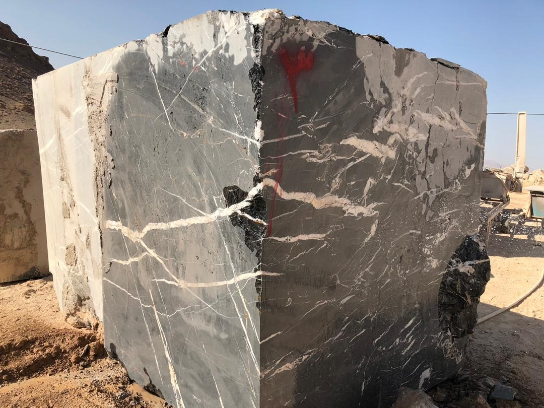 Petra Gray Marble Blocks