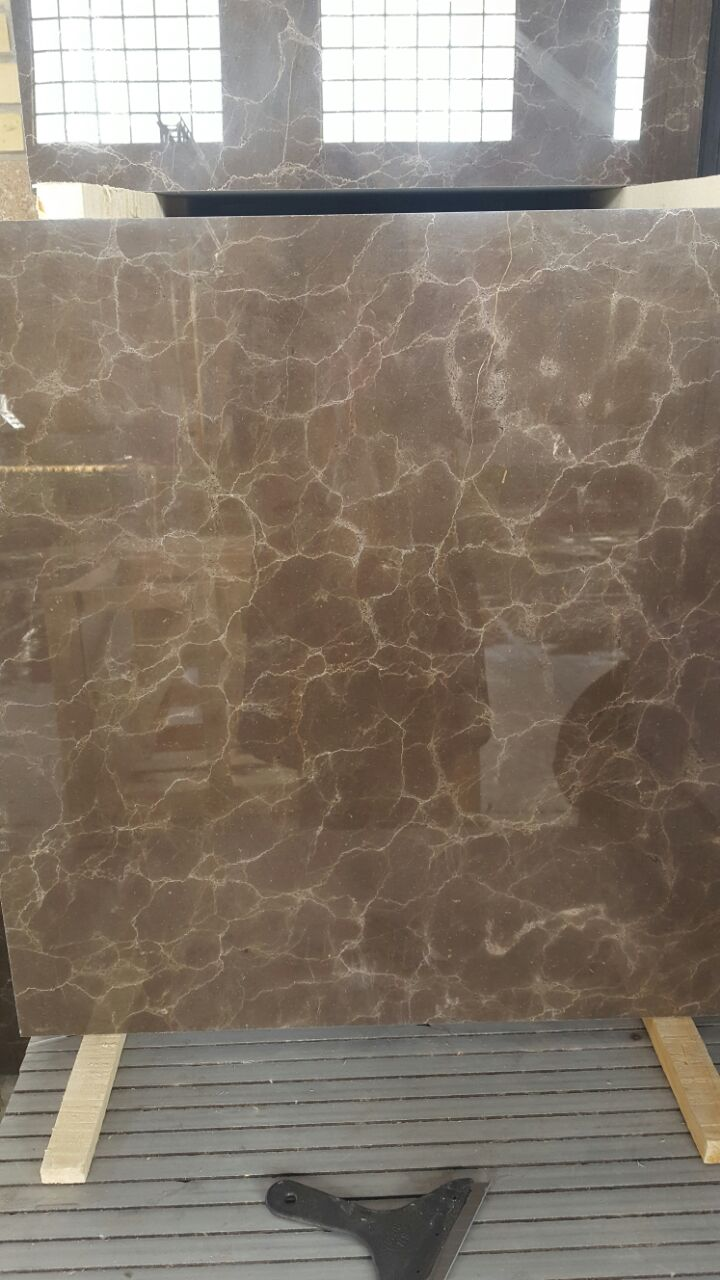 DISCOUNTED First Quality Dark Brown Marble Tile