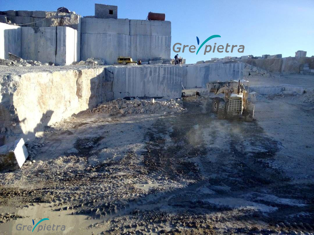 Grey Pietra Marble Blocks