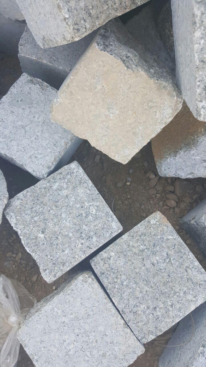 cubic stone paving stone