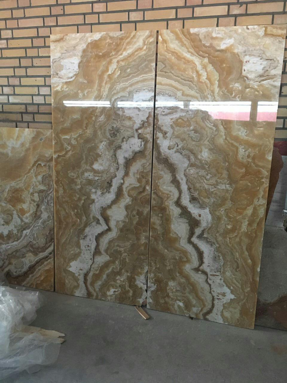 Orange or honey Onyx  quarry owner