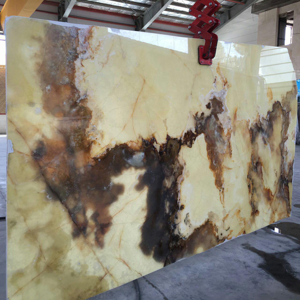 onyx stone slabs from quarry owner