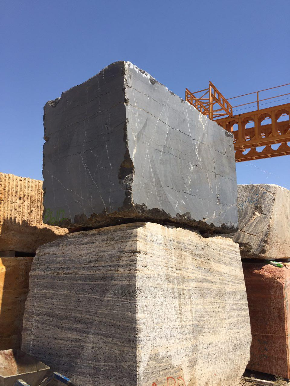 Pietra Grey Marble Blocks