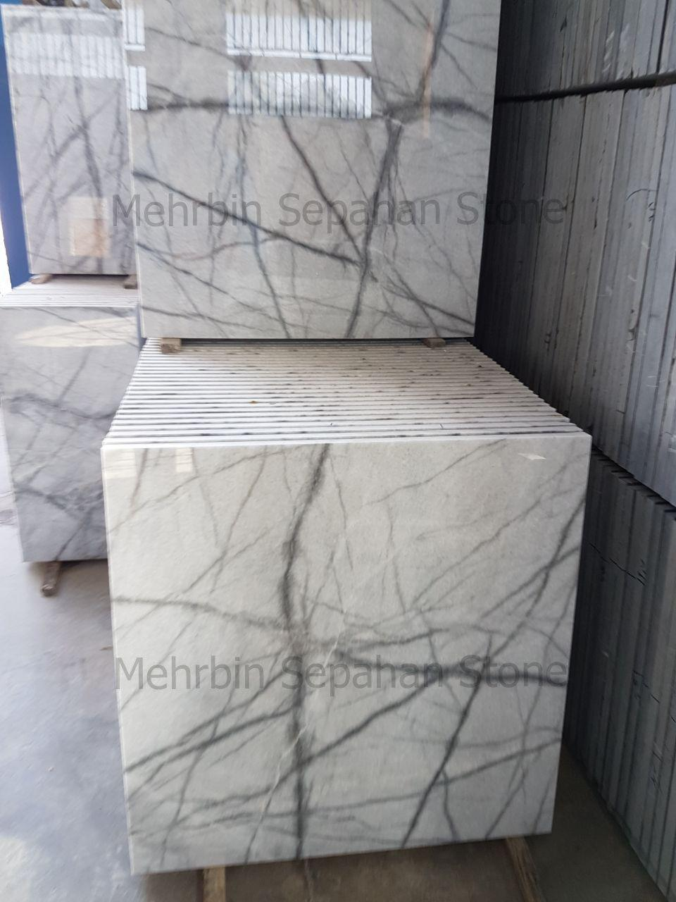 Persian White Spider Marble