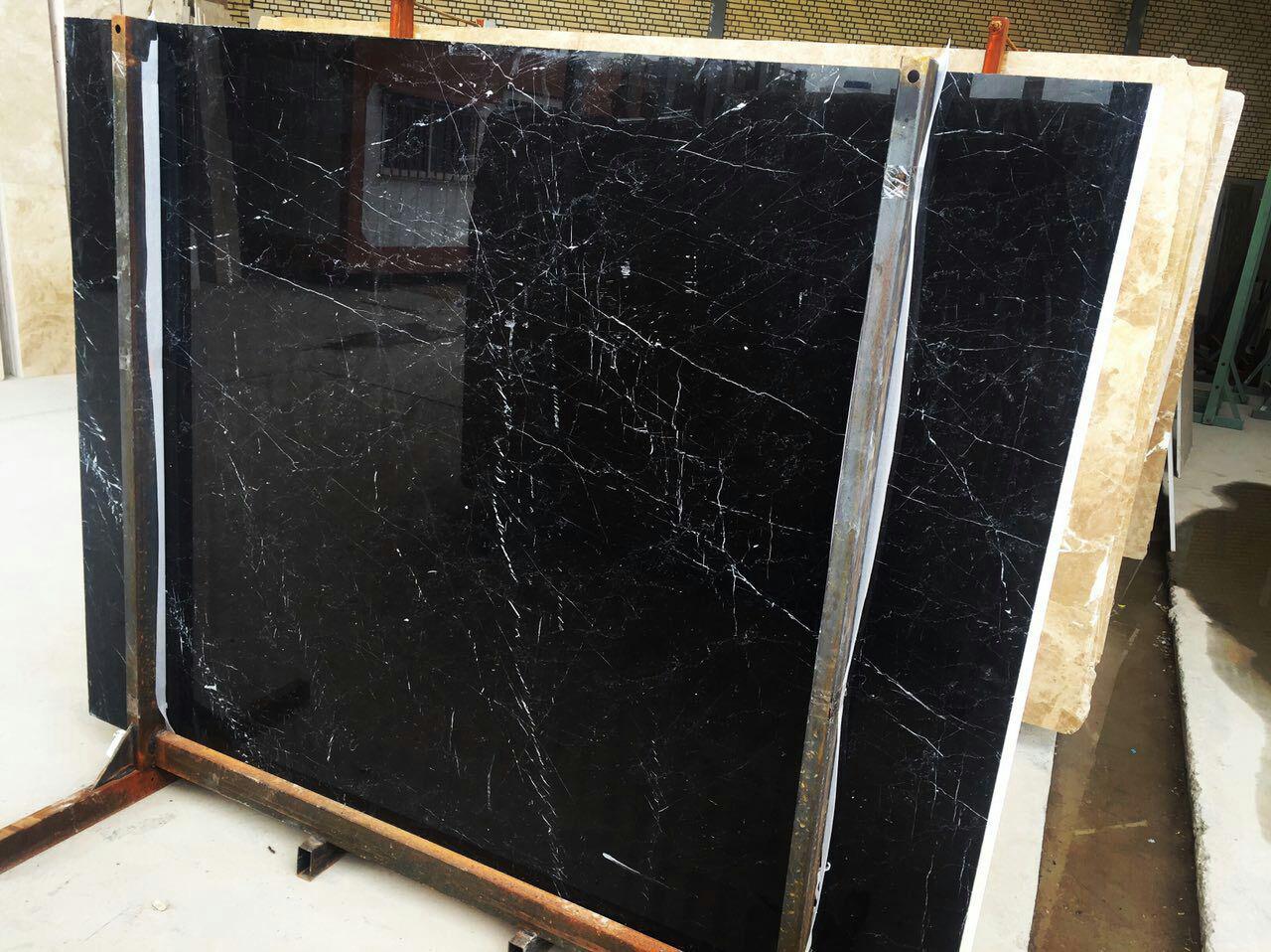 Armani Black Marble Slabs