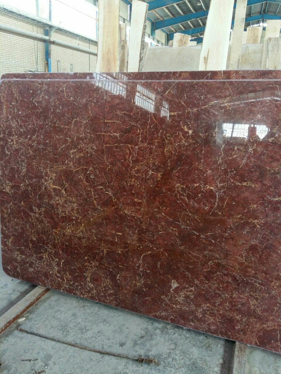Iranian red marble