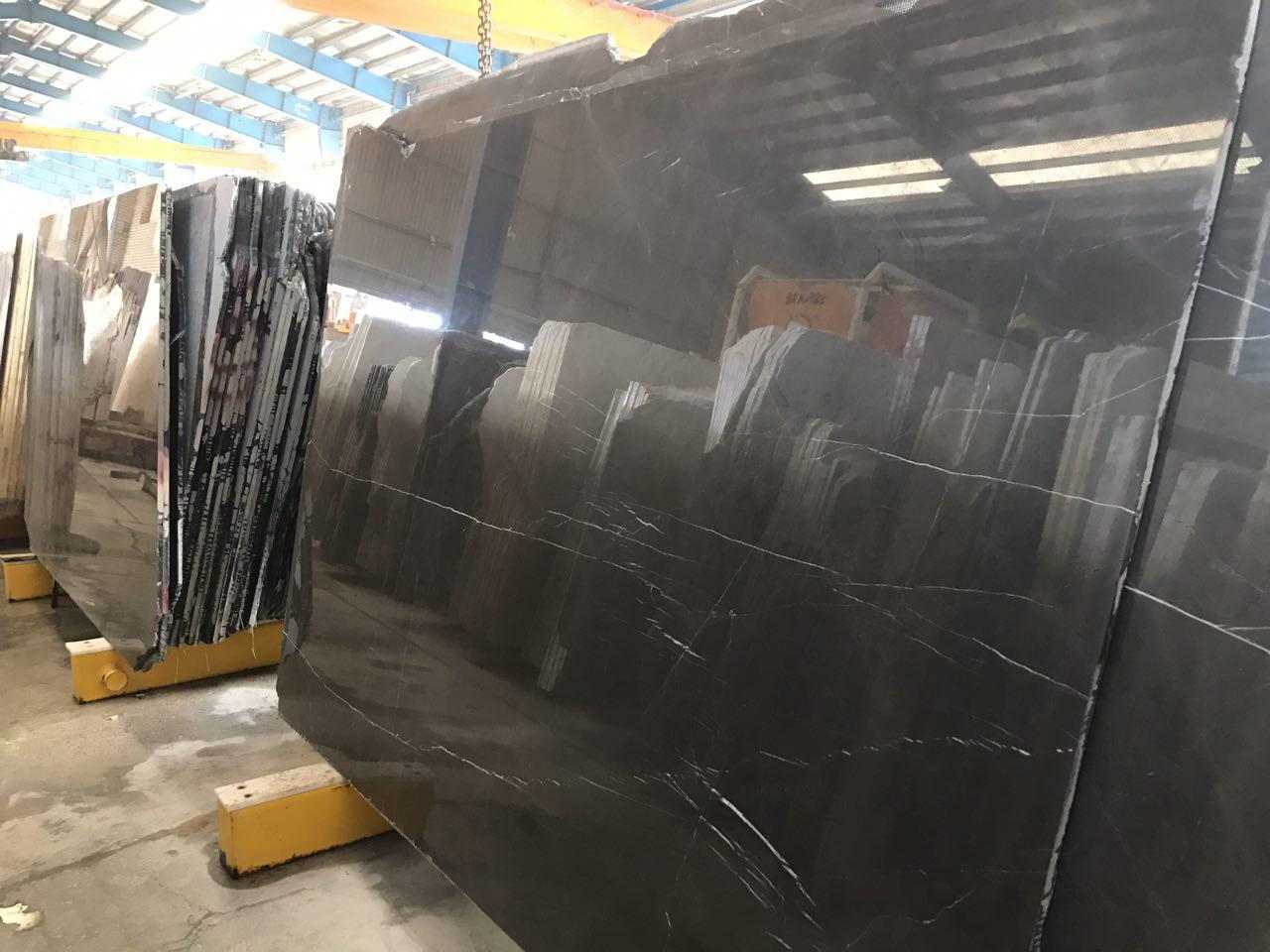 Pierta Grey Slab  Pietra Grey Block  Persian Nero Marquina  Persian Pietra Grey  Pietra Grey Marble