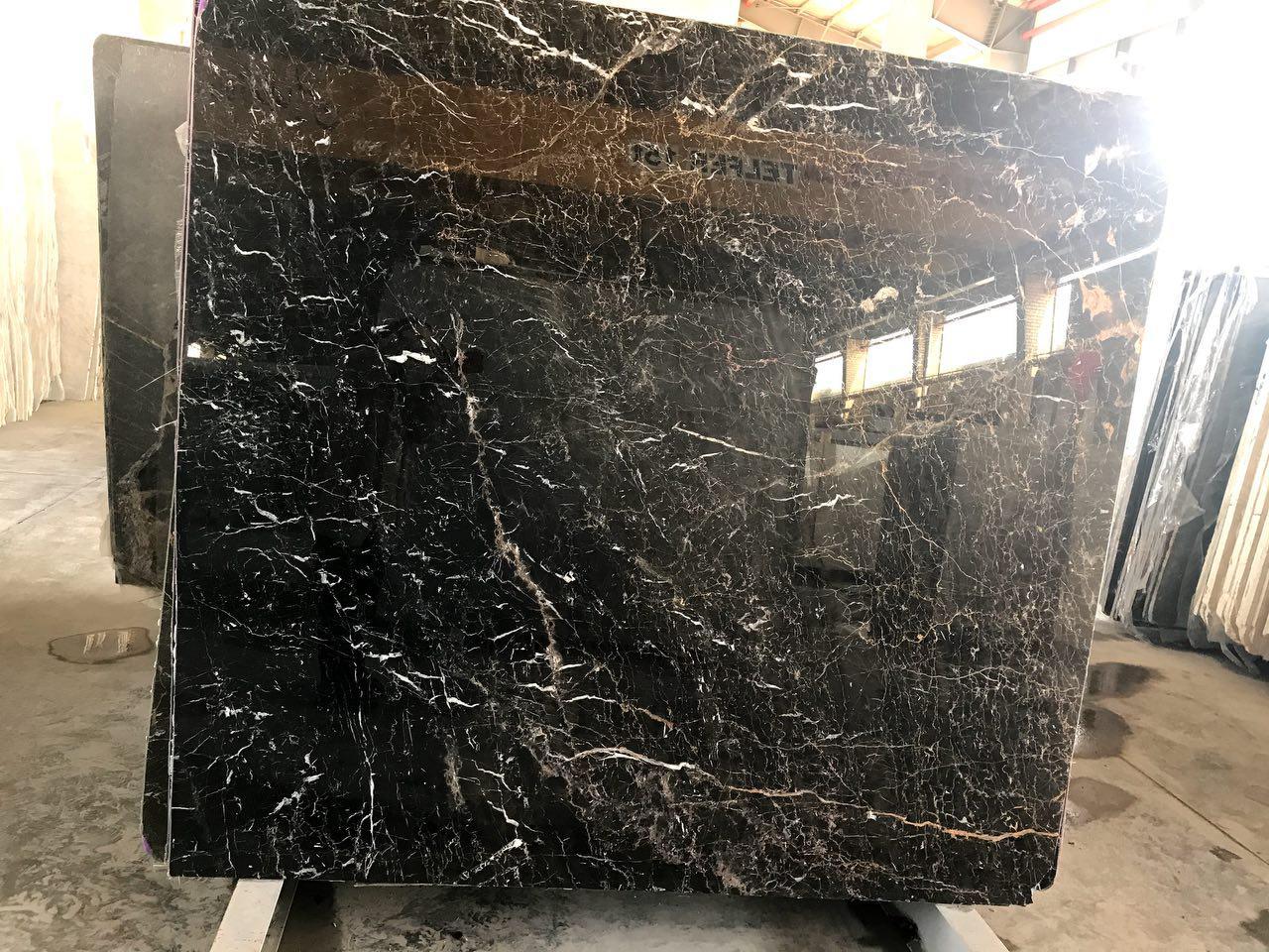 black ocean marble