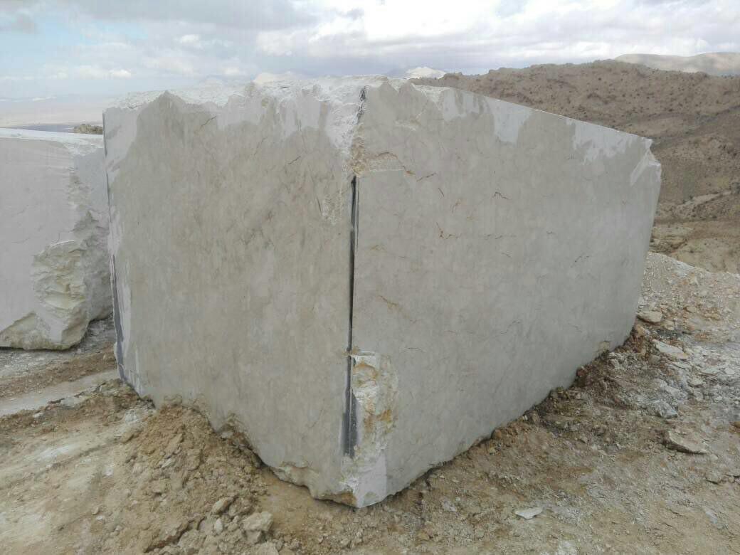Spinas Marble Block  Beige Marble Block