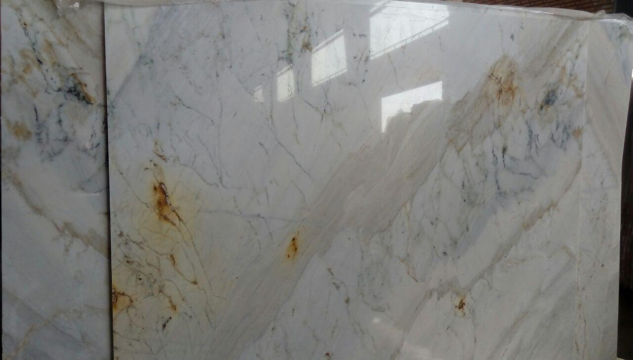 white crystal marble