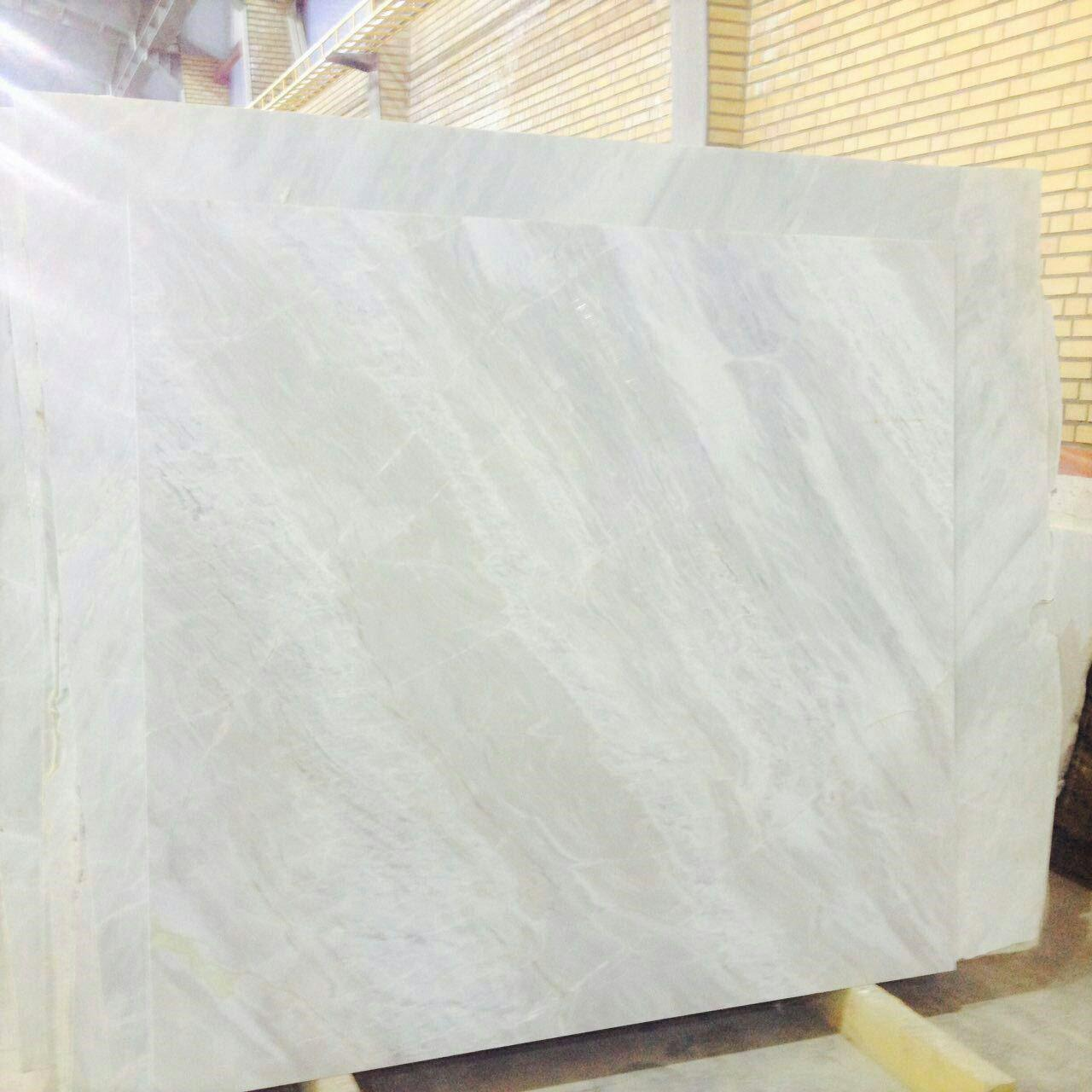 white snowy marble