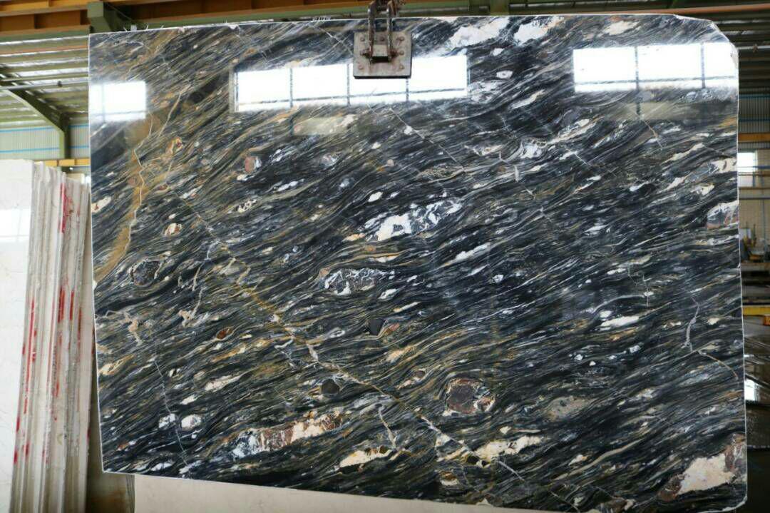 blue carbon marble