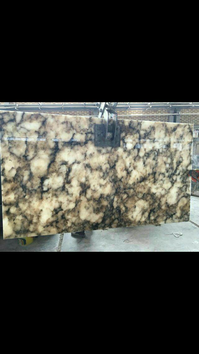 ALABASTER BLOCK AND SLAB