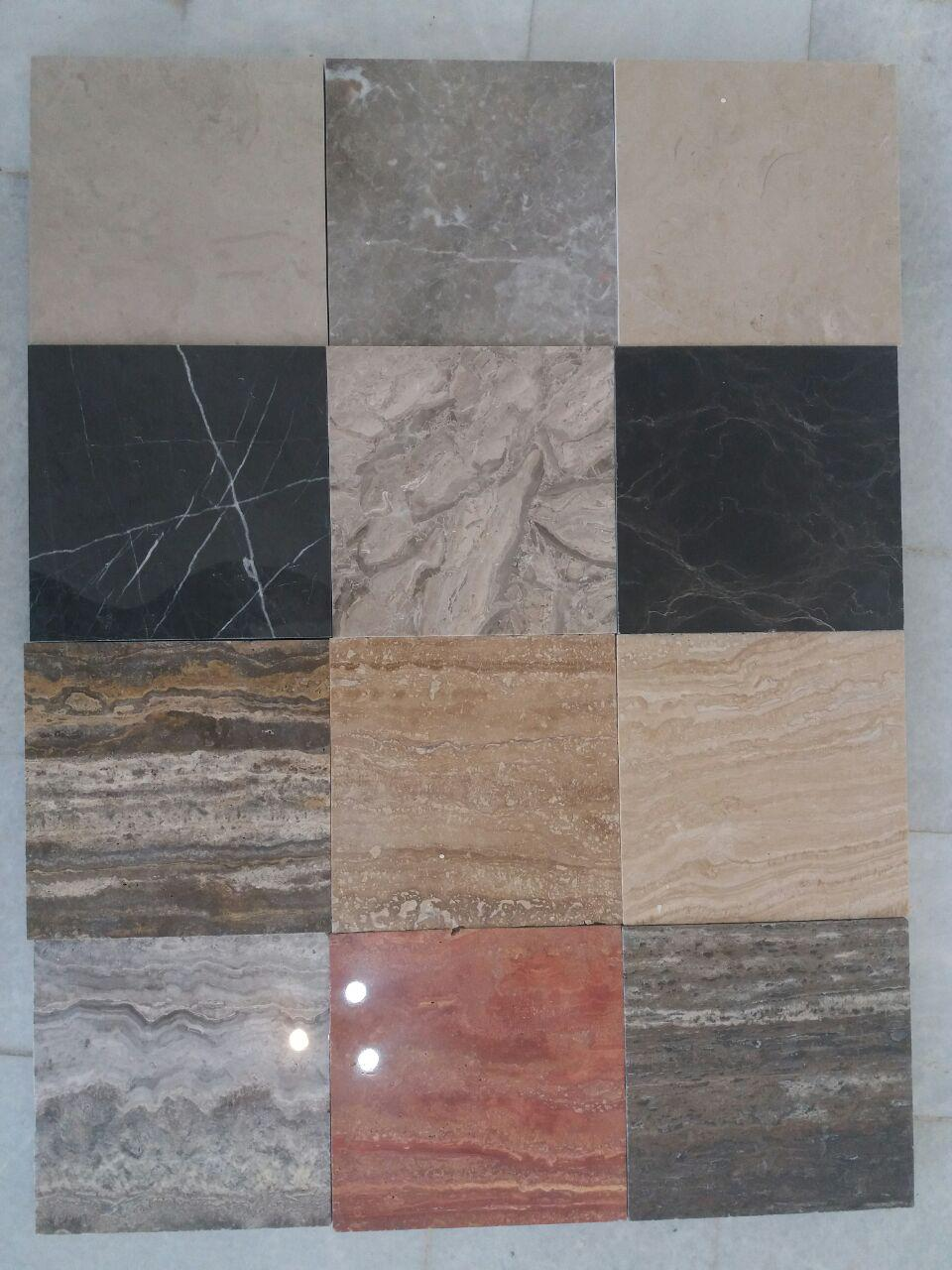 Stone samples for your showroom Travertine  Marble onyx Limestone  Granite
