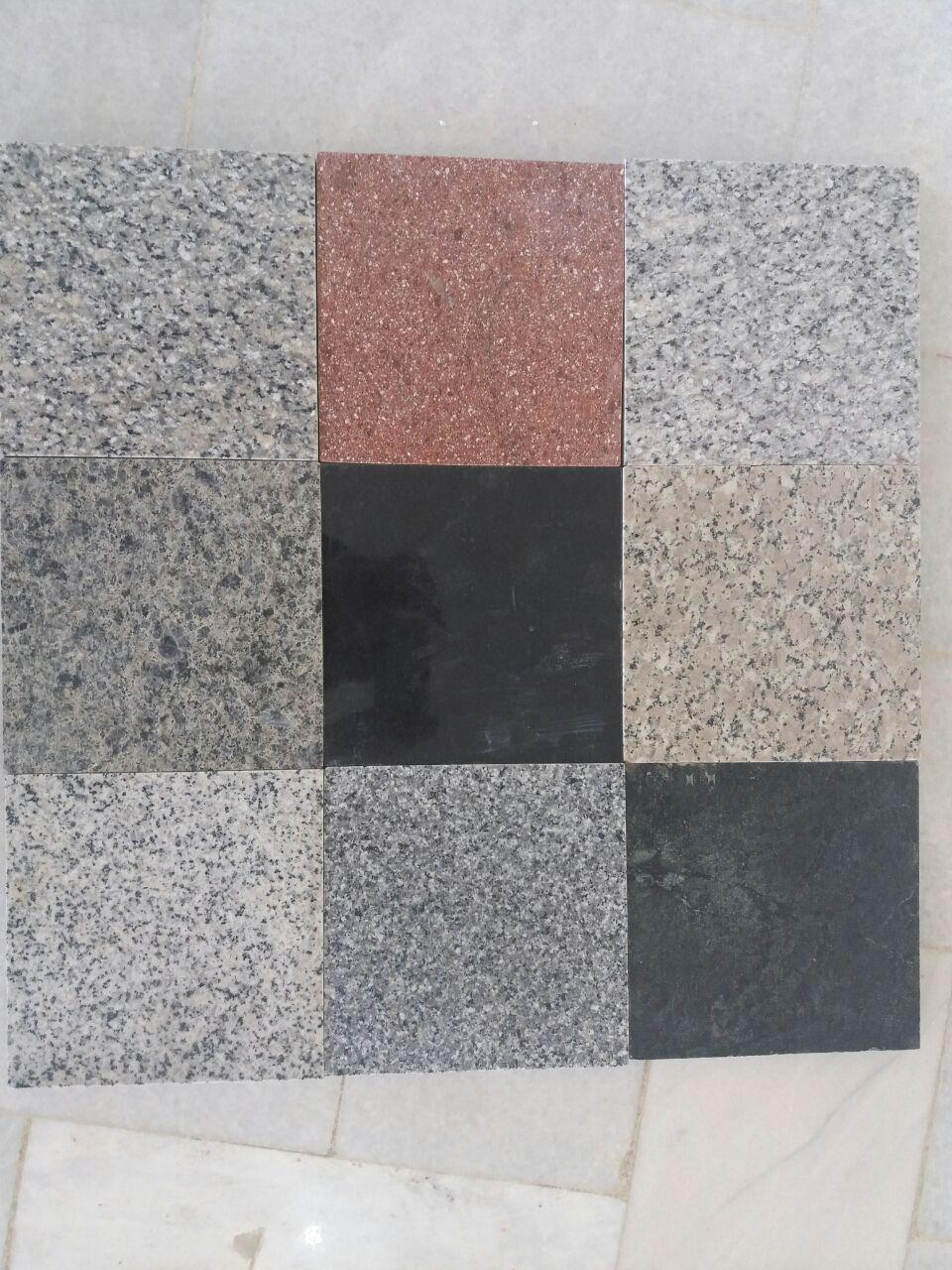 All Granite Samples Tiles