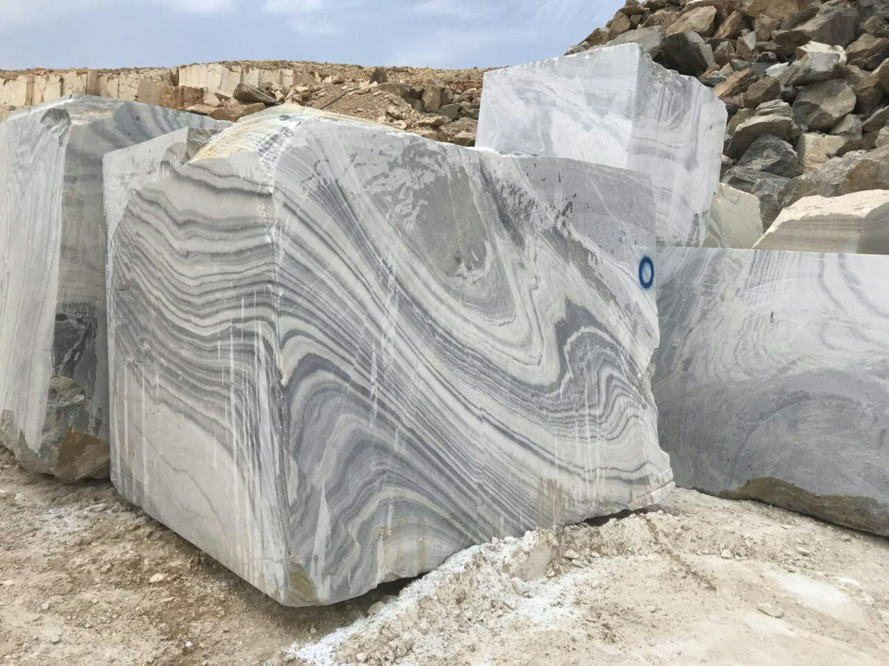 Wavy Crystal Block