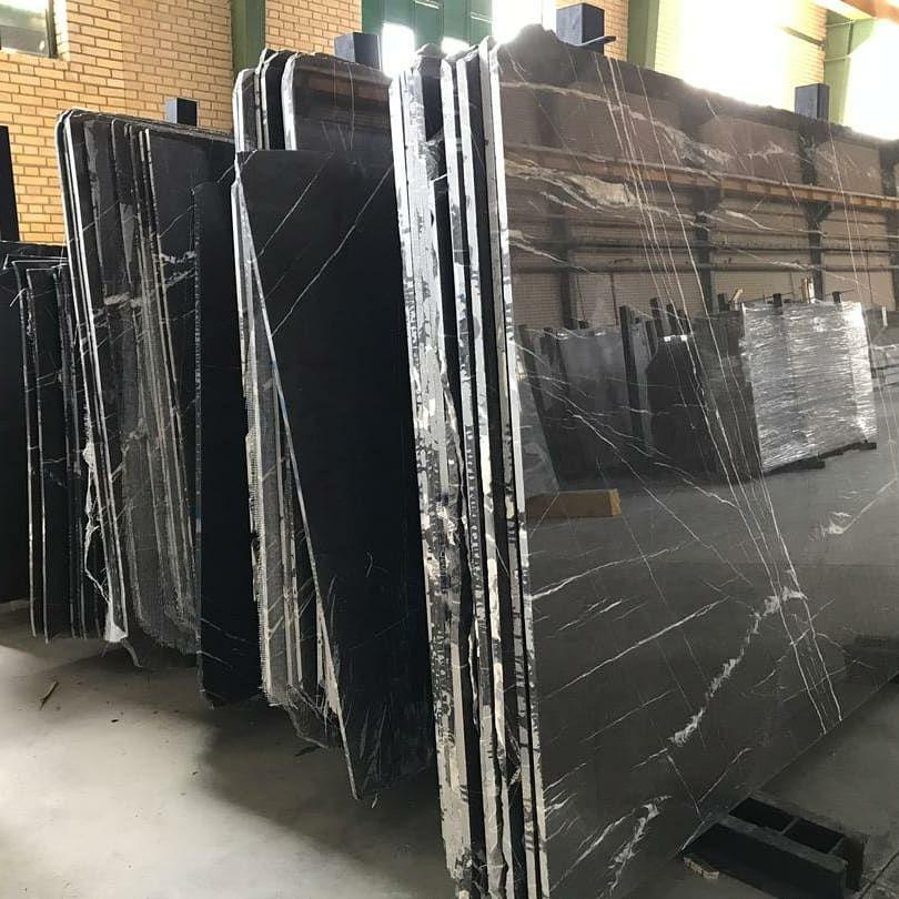 Pietra Gray Marble Polished Stone Slabs