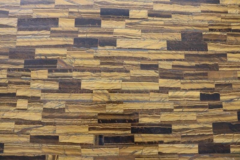 manufacturer supply tiger eye stone slab