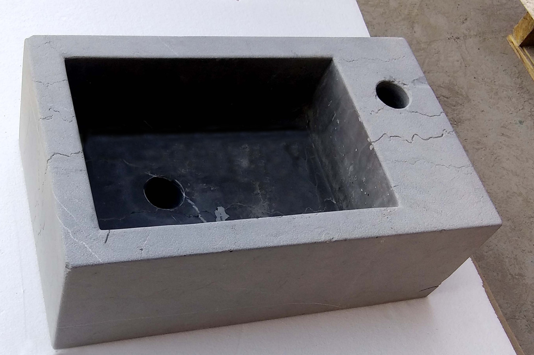 Grey Marble Stone Sink