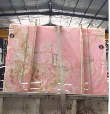 Iran Pink onyx slabs pink marble tiles Onice Rosa Iran Pink Onyx