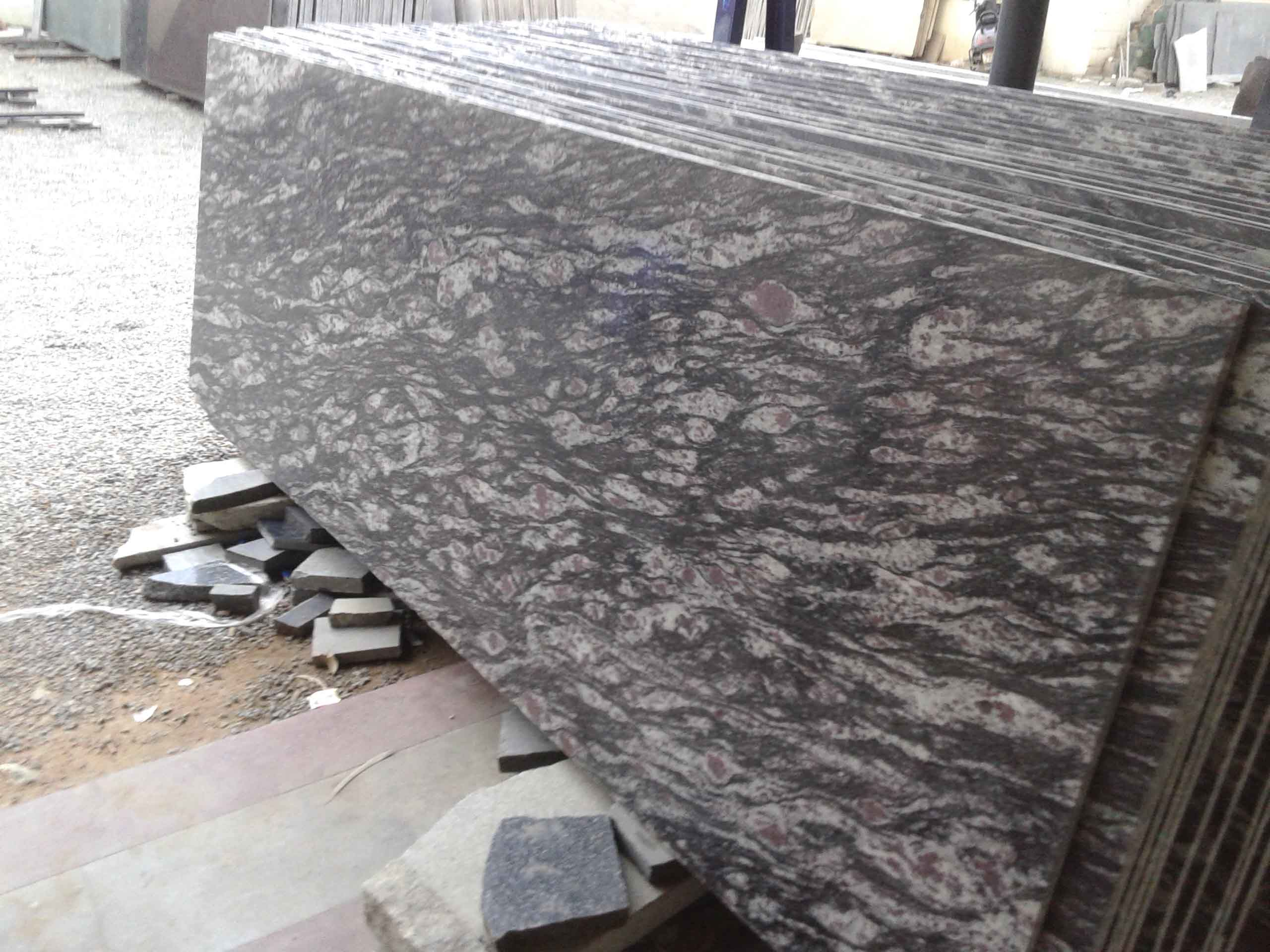 Pista Green Granite Slabs