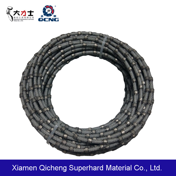 Diamond wire for stone factory