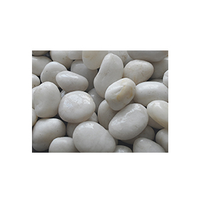 NJ-003 White polished stone