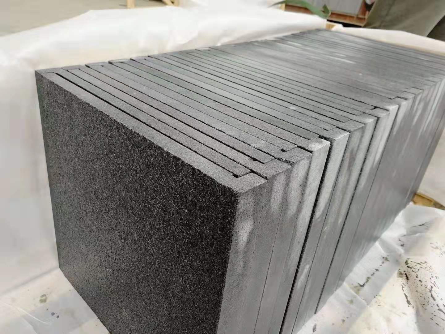 G654 granite pool coping