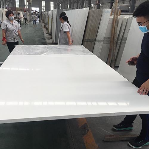 Pure white color artificial quartz stone China