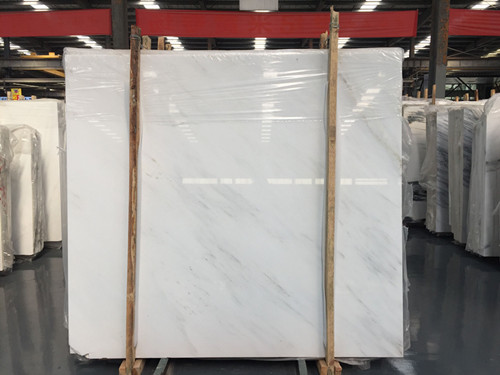 China Pure White Marble Big Slab