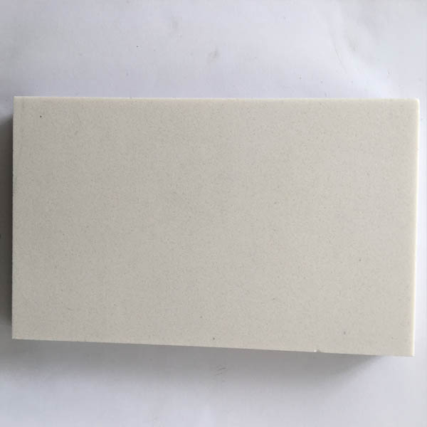 Pure white artificial marble
