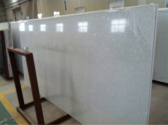 White Quartz stone slab high quality with cheap price