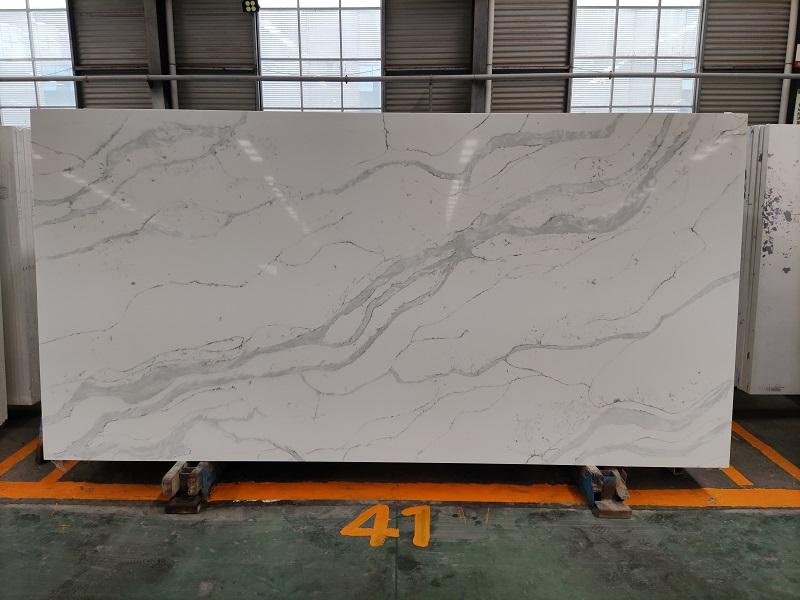 quartz stone that looks like marble
