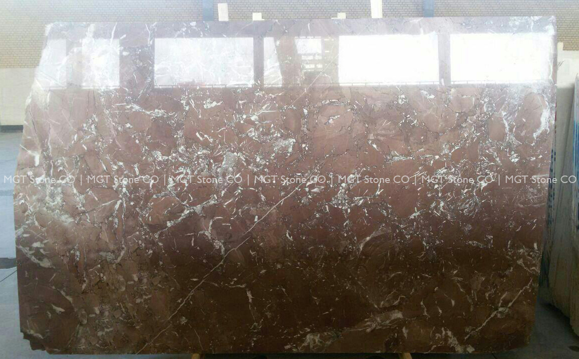 Red Rosa Marble Slab