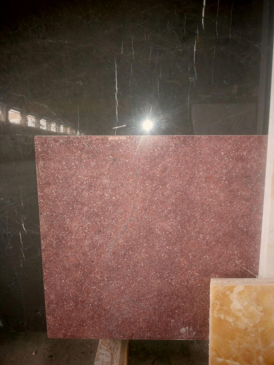 red granite-slab  tiles are available