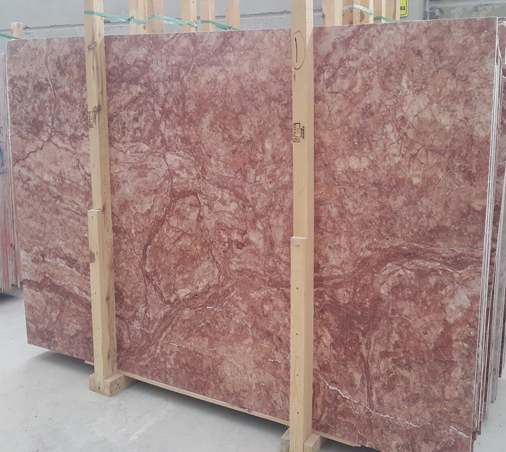 Red Travertine Slab