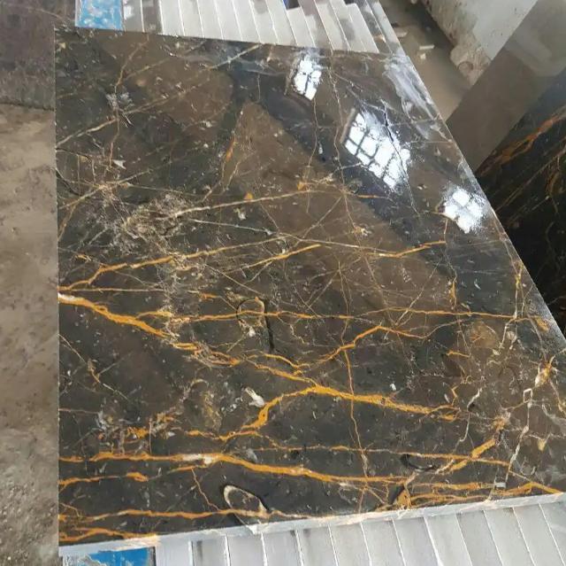 GoldenBlack Marble