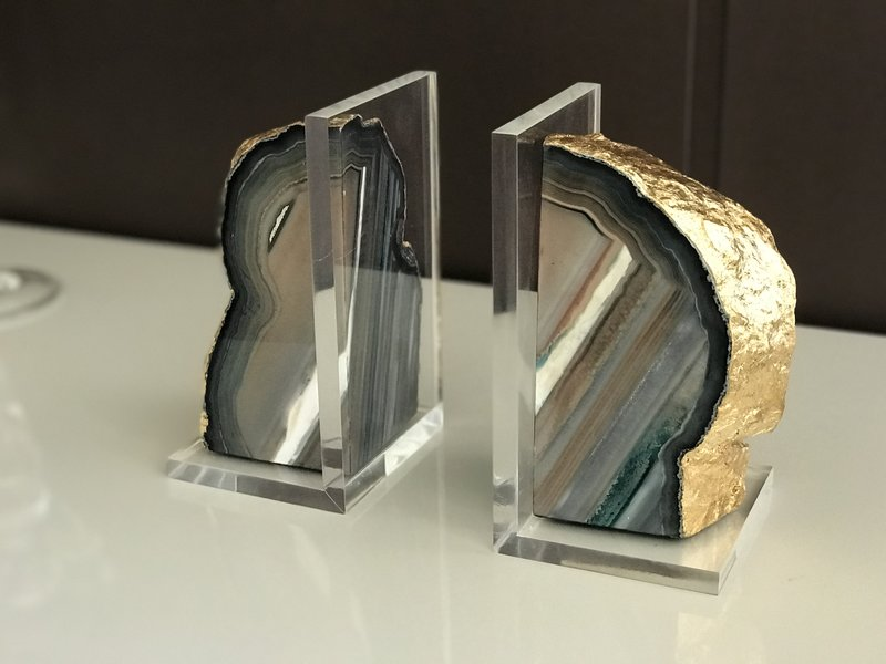 Agate Book Holder