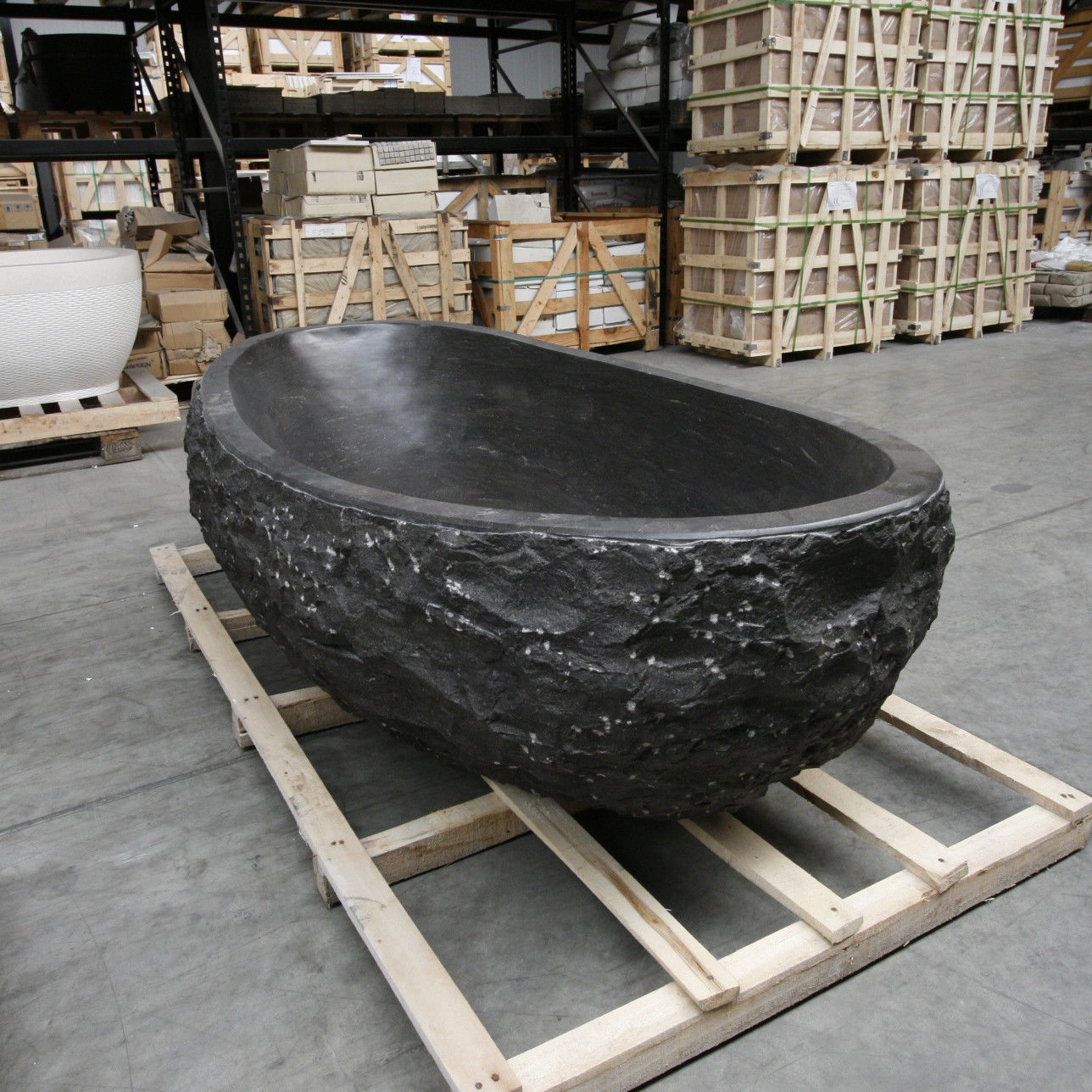 Stone Bathtub Sandstone Bathtub