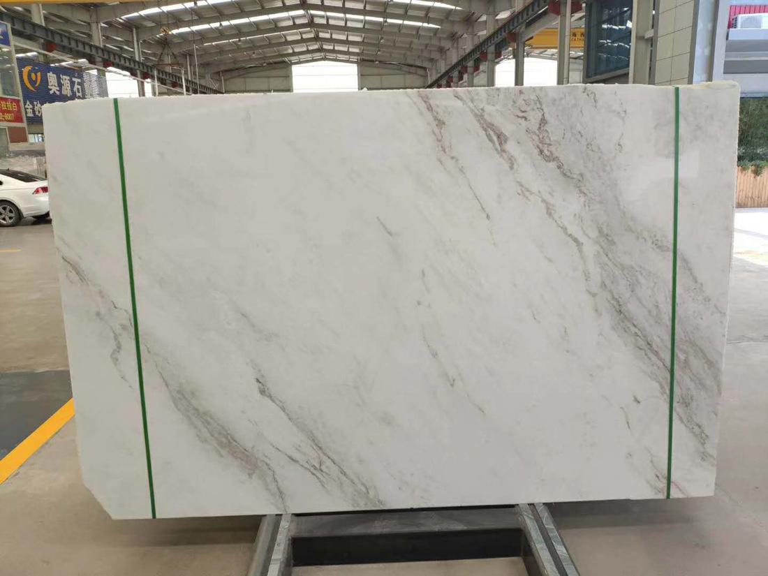 North Pearl White Marble Marmol Blanco Pulido