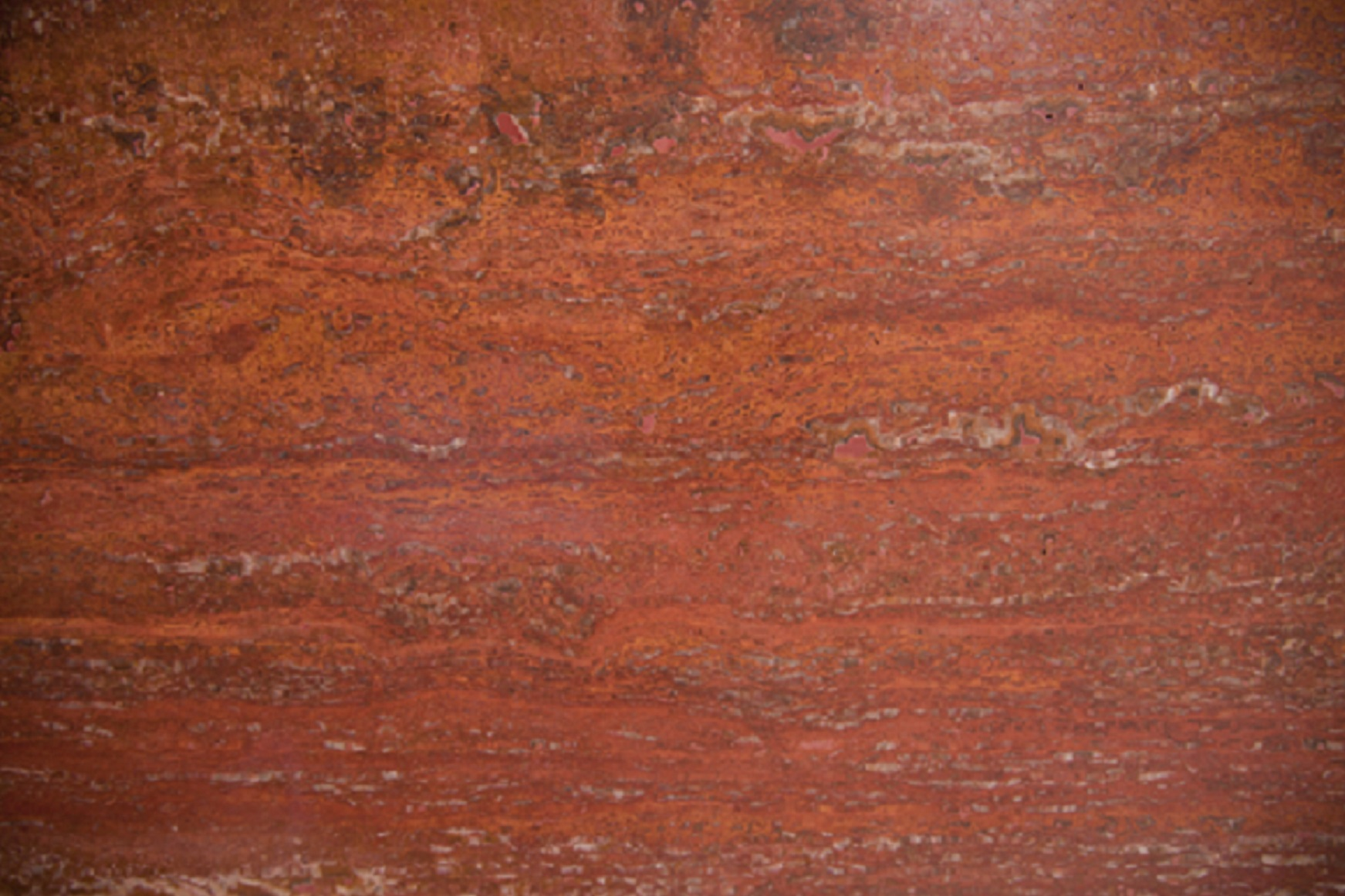Iran Red Travertine
